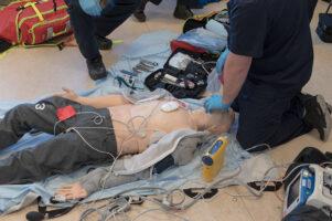 Advance care paramedics in training